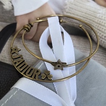 AUTHENTIC Christian Dior LIMITED EDITION J'ADIOR LARGE HOOP EARRINGS GOLD  image 2
