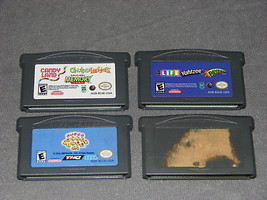 Nintendo Game Boy Advance: 4 Games - Monkey Ball Jr + Life/Yahtzee + Mut... - $13.00