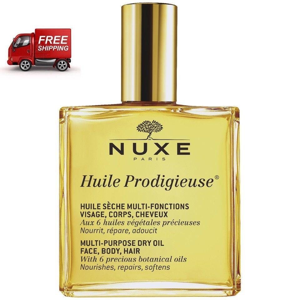 Nuxe Huile Prodigieuse 100ml, Multi Purpose Dry Oil Face-Hair-Body - $42.85