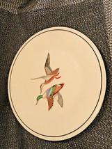 Lenox Game Plate Mallard Ducks Gold Mark USA 8.25 inches - $19.99
