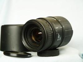 Nikon Autofocus Fit Sigma Zoom Macro 70-300mm Lens c/w Hood -SLR + Early DSLR- - $45.00