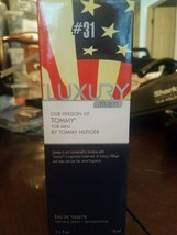Luxury Men Our Version Of Tommy For Men By Tommy Hiliger 2.5 Fl  - $15.72