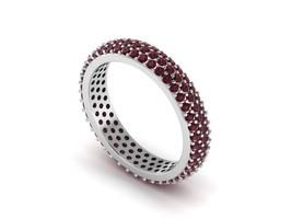 Gemstone Tourmaline, Tanzanite, Blue Topaz, Peridot Ring 925 Silver Wedd... - £16.93 GBP+
