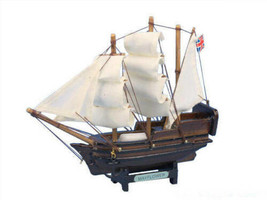 "Mayflower 7"" - Wooden Model Tall Ship - Nautical Gift - Wooden -NIB - $9.85"
