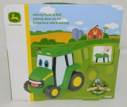 John Deere LP67305 Johnny Tractor Push And Roll Toy 18 Months image 4