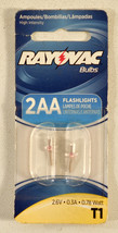 Rayovac T1 High Intensity Replacement Bulbs for 2AA Flashlight - $3.69