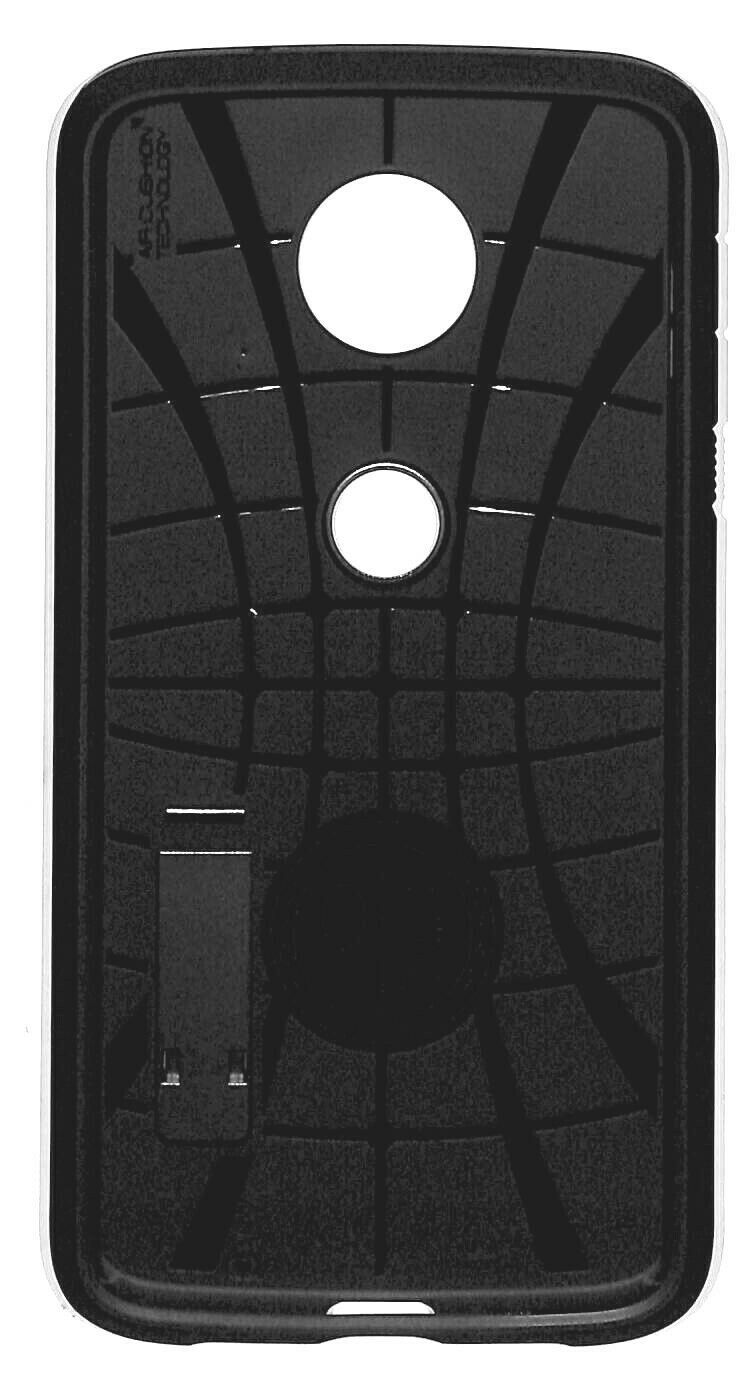 Spigen Tough Armor Case for Moto Z2 Force Edition (2017) Dual Layer; Kickstand