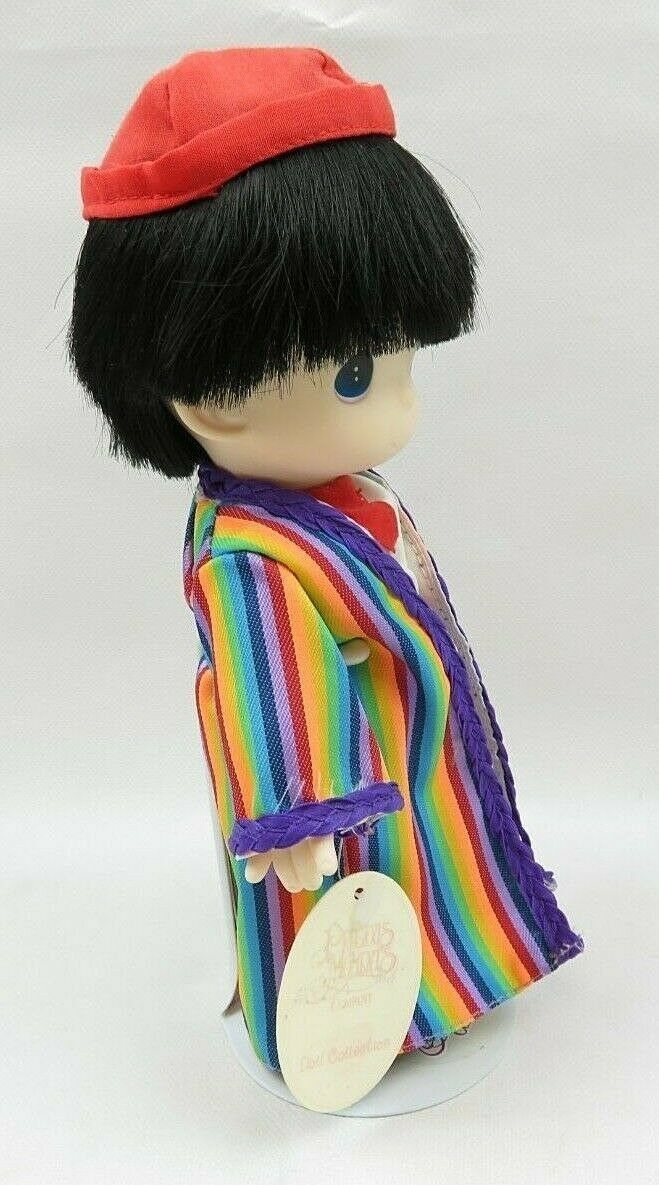 Precious Moments Plastic Doll Collection Joseph from The Story of Joseph & Stand