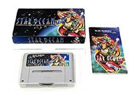 STAR OCEAN Super Famicom Nintendo Enix Japan Boxed Game sf - $49.72