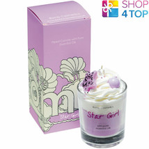 STAR GIRL PIPED CANDLE BOMB COSMETICS OZONIC FLORAL MELON LEMON SCENTED NEW - $14.84