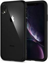 iPhone XR Case (2018) Ultra Hybrid Shockproof Lightweight Clear Matte Black - $29.69