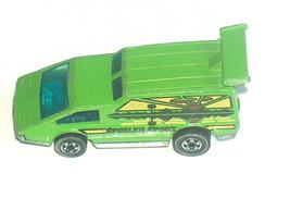VTG 1976 Mattel Hot Wheels Neon Green Spoiler Sport Hong Kong C5 50% Mar... - $16.64