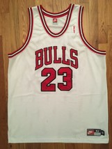 Authentic Nike 1997-98 Chicago Bulls Michael Jordan Home White Jersey 52 XXL 2X - $304.99