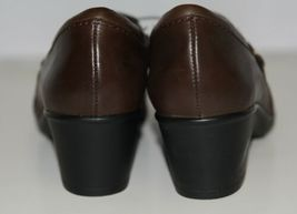 Clarks 1272055 Genette Curve Round Toe Leather Shootie Brown Size Six and a Half image 6