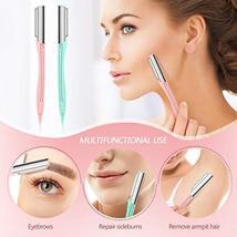 Lurrose Eyebrow Razors Shavers, Facial Hair Trimmer for Women and Men, Multipurp image 5