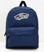 NWT VANS Realm Backpack OFF THE WALL SKATEBOARD PATCH in Blue - $35.03