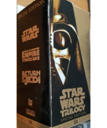 STAR WARS TRILOGY Special Edition FOX Video VHS 1997 - $10.95