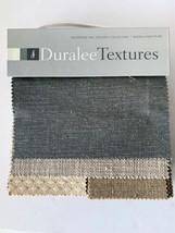 Duralee Textures Fabric Sample Book Smoke Linen Pearl - $38.69
