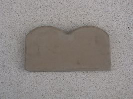 "6 SCALLOP CONCRETE GARDEN EDGING MOLDS MAKE 100s OF FEET OF 5.5"" LANDSCAPE EDGES image 4"