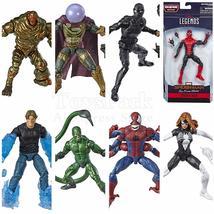 "Marvel Legends Far From Home Spider Man 6"" Action Figure Stealth Suit Sp... - $56.78+"