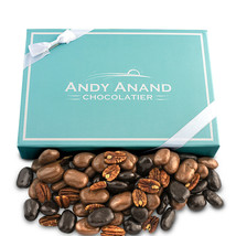 Andy Anand Chocolate Pecan Bridge with 6 Divine Flavors Free Air Shipping 1 lbs - $22.84