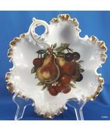 Rosenthal Monbijou Leaf Shaped Bowl with Mitterteich Orchard Decoration ... - $18.81