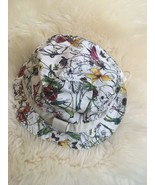 NWT 100% AUTH Gucci Kids Floral Bucket Hats Bear Label 258057 $285 - $128.00