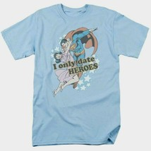 Superman T-shirt Date Heroes DC comics Batman superhero retro cotton tee DCO417 image 2