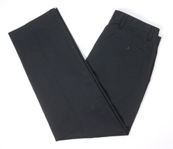 NEW DOCKERS BLACK FLAT FRONT CLASSIC FIT D3 EASY KHAKI CHINO PANTS SZ 34X32 - $16.03