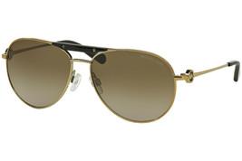 Michael Kors Zanzibar Women's Sunglasses MK5001 100413 Gold/Smoke Gradient Lens - $76.63