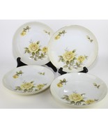 Coupe Soup Bowl Yellow Rose Pattern by Harmony House China made in Japan... - $31.68