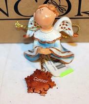 "Christmas Ornaments - WHOLESALE- Russ BERRIE-#6219 - 3 ANGELS- ""CALEB""- New - $5.83"