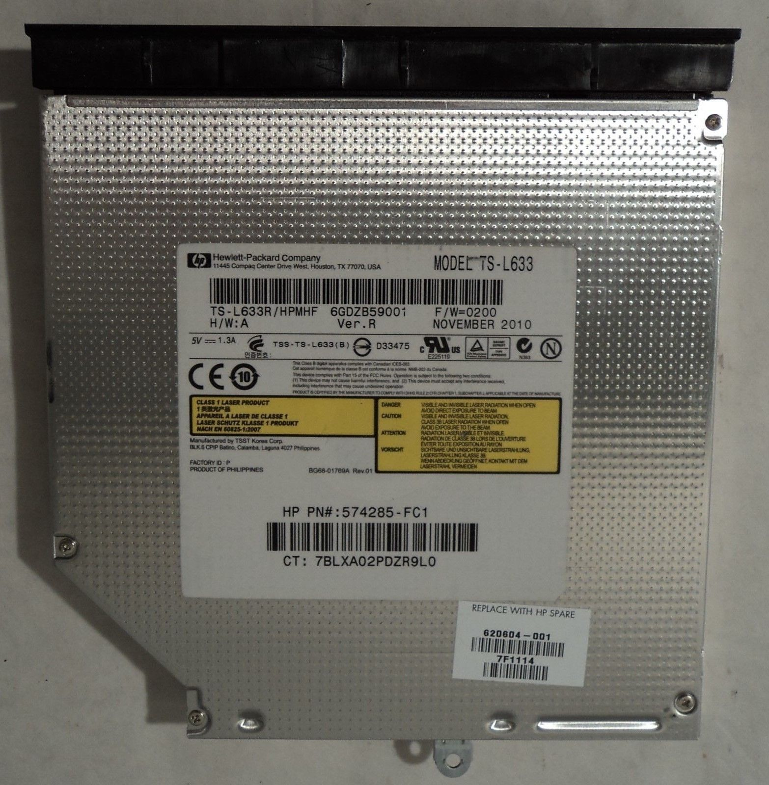 HP TS-L633R/HPMHF (574285-FC1) (600651-001) and 50 similar items