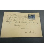 Vintage Postage Envelope 1939 Kaapstad posted South Africa stamp - $17.82