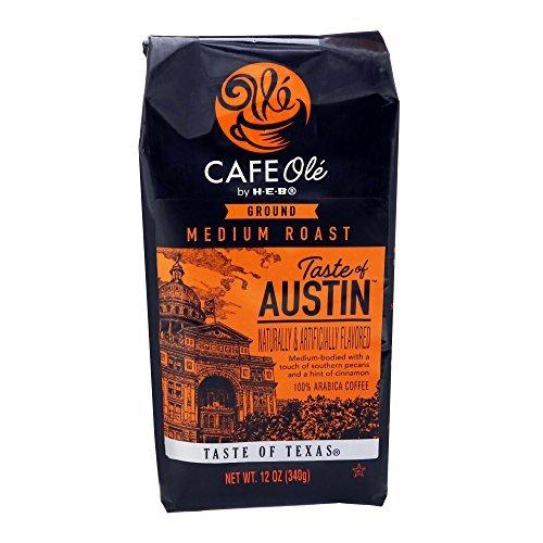 HEB Cafe Ole Taste Of Austin Ground Coffee (Pack of 2) (Pecans Cinnamon)12 oz (2 - $27.68