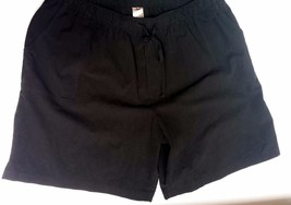 White Stag Black 100% Cotton Shorts Women's Plus Size 3 X (22 W to 24 W) - $19.99