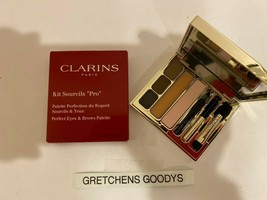 "Clarins Kit Sourcils ""Pro"" Perfect Eyes & Brows Palette NIB Full Size - $18.80"