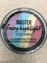 New Maybelline Ny Master Fairy Highlight Face Studio Rainbow Highlighter - $9.00