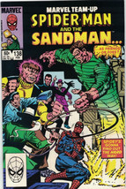 Marvel Team-Up Comic Book Spider-Man and Sandman #138 Marvel 1984 VERY F... - $2.99