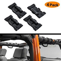 AnTom Jeep Wrangler Roll Bar Grab Handles, Heavy Duty Unlimited Wrangler... - $23.42