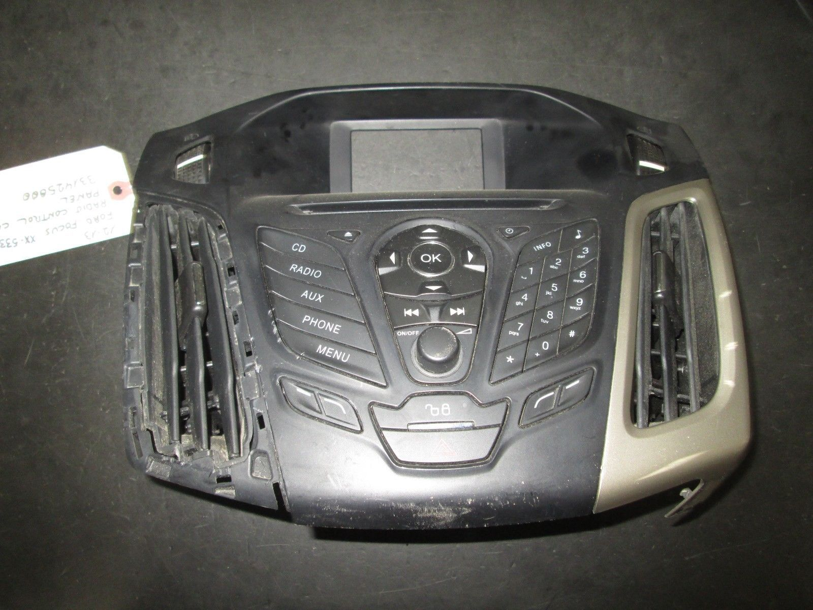 Primary image for 12 13 FORD FOCUS RADIO CONTROL CLIMATE PANEL #331425000