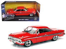 """Dom's Chevrolet Impala Red Fast & Furious F8 """"The Fate of the Furious"""" M... - $44.50"""