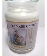 "Yankee Scented Candle ""Frosted Evergreen"" Fragrance, in Large Jar with L... - $59.99"