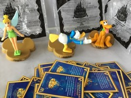 Lot Of 2005 McDonalds Disney 50th Celebration Character Figurines W/Card... - $49.49