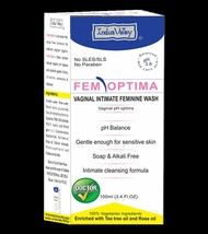 Fem Optima Vaginal Intimate Feminine Wash- For itching, irritation,  sor... - $8.38