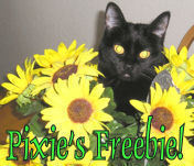 Pixie s sunflower freebie