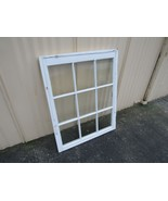 Handcrafted Antique Exterior True Divided Window Type D 38in x 30in Wood - $45.13