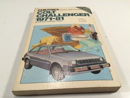 1971-1981 Dodge Colt Challenger Chilton 7037 Repair & Tune-Up Guide - $19.99