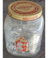 Antique Ben-Hur Supreme Quality Percolator Coffee Jar - VGC - COLLECTIBL... - $59.39
