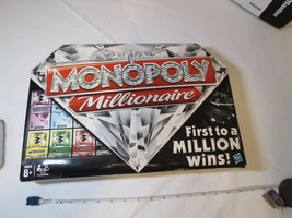 Monopoly Millionaire board game first to million wins Hasbro Edition A24... - $31.92